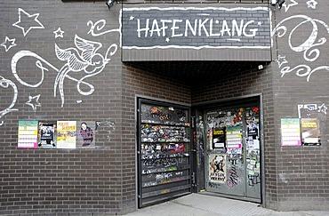 Music club, Hafenklang, on the Grossen Elbstrasse, Fischereihafen fishing port, St. Pauli, Hamburg, Germany, Europe