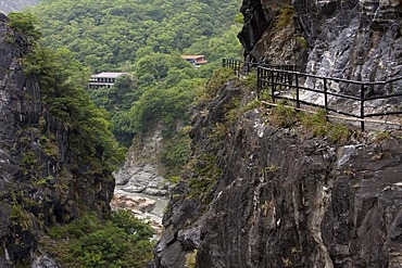 Taroko Gorge National Park near Hualien, Taiwan, China, Asia
