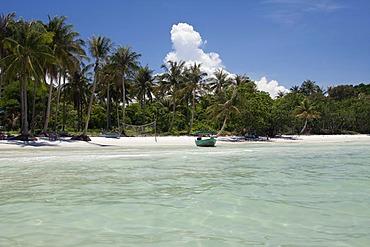 Tropical beach on the island of Phu Quoc, Vietnam, Asia