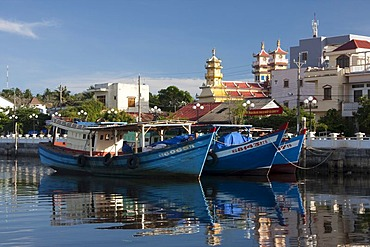 Doung Dong Town on the island of Phu Quoc, Vietnam, Asia
