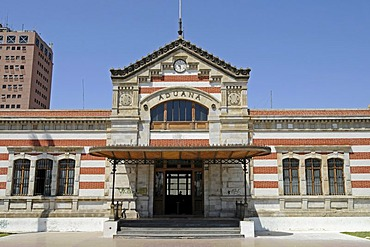 Old customs office, culture office, architect Gustave Eiffel, Arica, Norte Grande, northern Chile, Chile, South America