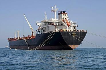 Large cargo ship, Arica, Norte Grande, northern Chile, Chile, South America