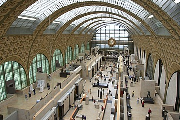 Musee d'Orsay, Orsay Museum, Paris, France, Europe