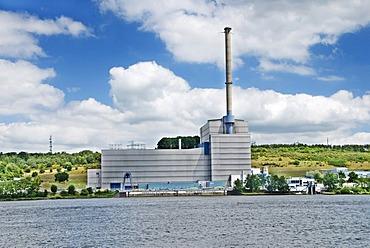 Kruemmel Nuclear Power Plant in Geesthacht, Schleswig-Holstein, Germany, Europe
