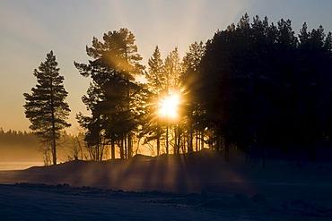 Sunset, Sweden, Scandinavia, Europe