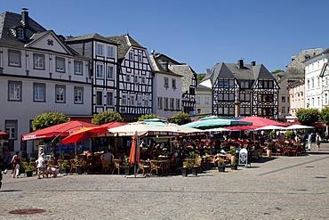 Market place, Linz am Rhein, Rhineland, Rhineland-Palatinate, Germany, Europe