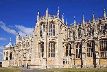 St. George's Chapel, Windsor Castle, Windsor, Berkshire, England, United Kingdom, Europe