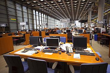 Office Floor of Lloyds Insurance Building, City of London, London, England, United Kingdom, Europe