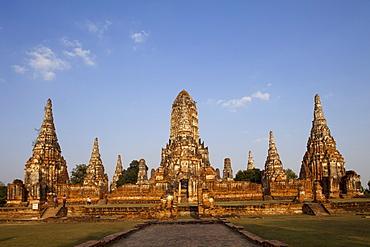 Wat Chai Wattanaram, UNESCO World Heritage Site, Ayutthaya Historical Park, Ayutthaya, Thailand, Southeast Asia, Asia