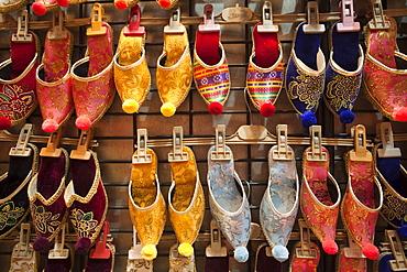 Turkish slippers, Grand Bazaar, Sultanahmet, Istanbul, Turkey, Europe