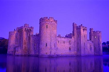 Bodiam Castle, East Sussex, England, United Kingdom, Europe