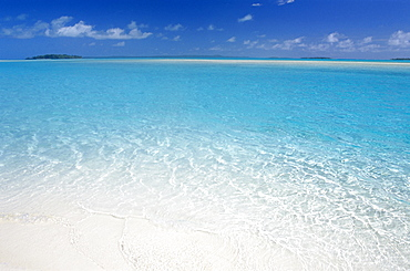 Aitutaki Lagoon, Aitutaki, Cook Islands, Polynesia, South Pacific, Pacific