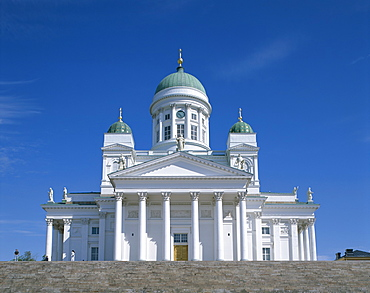 The Lutheran Cathedral, Senate Square, Helsinki, Finland, Scandinavia, Europe