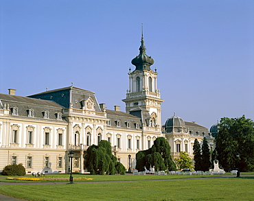 Festetics Palace, Keszthely, Lake Balaton, Hungary, Europe