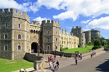 Windsor Castle, Windsor, Berkshire, England, United Kingdom, Europe