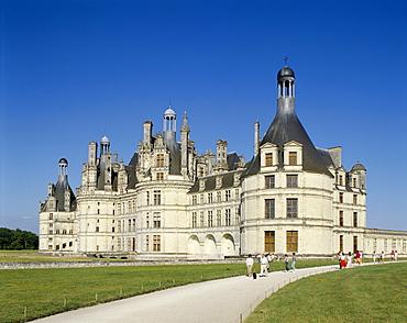 Chambord Castle (Chateau de Chambord), UNESCO World Heritage Site, Chambord, Loir et Cher, Loire Valley, France, Europe