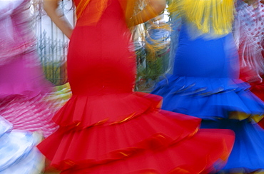 Flamenco dance, Fiesta, Jerez de la Frontera, Andalusia, Spain, Europe
