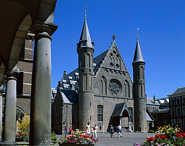 Dutch Parliament Building, Binnenhof, The Hague, Holland (Netherlands), Europe