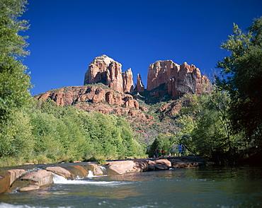 Cathedral Rock, Red Rock State Park, Sedona, Arizona, United States of America, North America