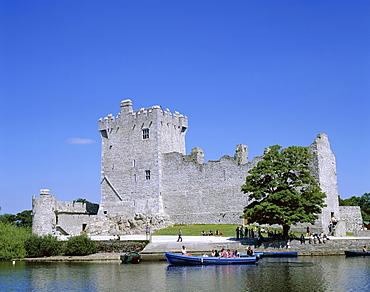Ross Castle, Killarney, County Kerry, Munster, Republic of Ireland, Europe