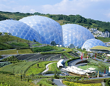 Eden Project, St. Austell, Cornwall, England, United Kingdom, Europe