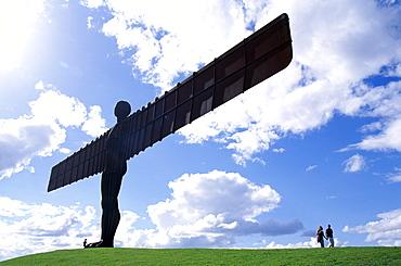 Angel of the North statue by Antony Gormley, Gateshead, Tyne and Wear, England, United Kingdom, Europe