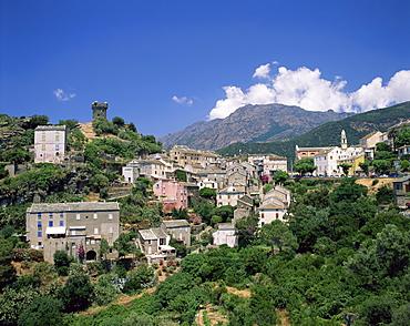 Nonza, Cape Corse, Corsica, France, Europe