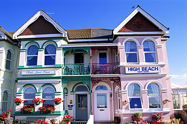 Typical Bed and Breakfast accommodation, Worthing, Sussex, England, United Kingdom, Europe