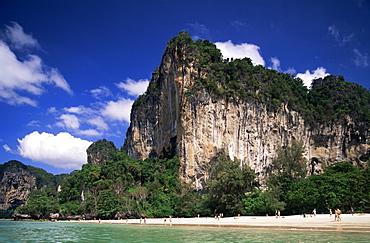 Railay Beach, Krabi, Phi Phi National Park, Thailand, Southeast Asia, Asia
