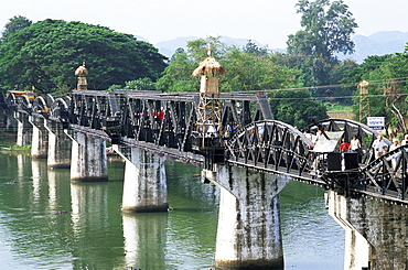 Kanchanaburi, Bridge over the River Kwai, Thailand, Southeast Asia, Asia
