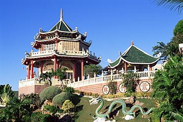 Taoist Temple in Beverly Hills, Cebu City, Cebu, Philippines, Southeast Asia, Asia