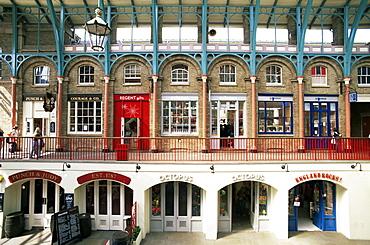 Interior of Covent Garden, London, England, United Kingdom, Europe