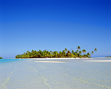 Atoll, Aitutaki Island, Cook Islands, Polynesia, South Pacific, Pacific