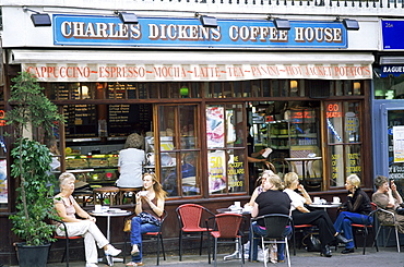 Charles Dickens Coffee House, Covent Garden, London, England, United Kingdom, Europe