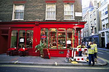 Street scene, Beak Street, Soho, London, England, United Kingdom, Europe