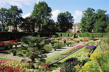 The Sunken Garden, Kensington Palace, Kensington Gardens, London, England, United Kingdom, Europe