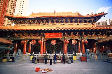 Wong Tai Sin Temple, Hong Kong, China, Asia