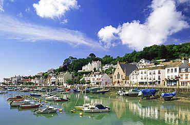 St. Aubins Harbour, Jersey, Channel Islands, United Kingdom, Europe