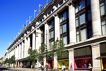 Selfridges Department Store, Oxford Street, London, England, United Kingdom, Europe