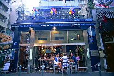 Restaurant and bar in Soho Area, Central, Hong Kong, China, Asia