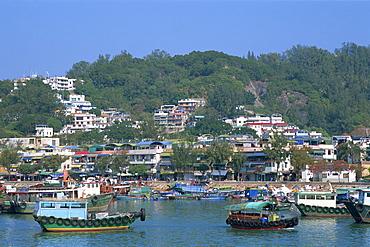Fishing boats, Cheung Chau Island, Hong Kong, China, Asia