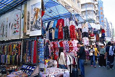 Ladies Market, Mong Kok, Kowloon, Hong Kong, China, Asia
