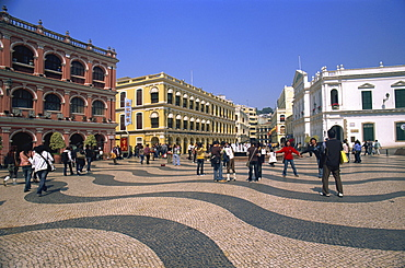 Senado Square, Macau, China, Asia