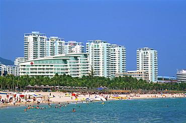Dadonghai Beach, Sanya, Hainan Island, China, Asia