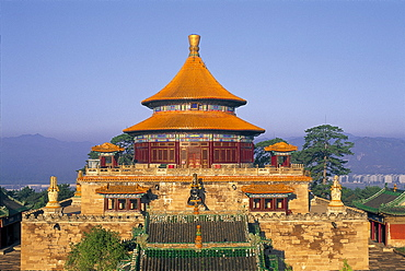 Temple of Universal Happiness dating from 1766, UNESCO World Heritage Site, Chengde, Hebei Province, China, Asia