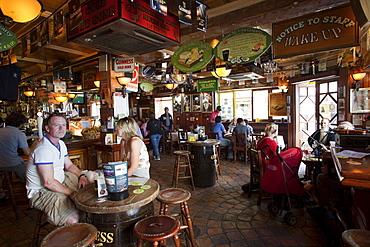 Pub interior in Temple Bar area, Dublin, Republic of Ireland, Europe