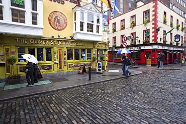 Pubs in Temple Bar area, Dublin, Republic of Ireland, Europe