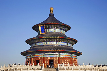The Hall of Prayer for Good Harvests, Temple of Heaven (Tiantan), UNESCO World Heritage Site, Beijing, China, Asia