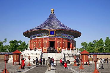 Temple of Heaven (Tiantan) (Imperial Vault of Heaven), UNESCO World Heritage Site, Beijing, China, Asia