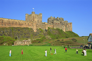 Bamburgh Castle, Bamburgh, Northumbria, England, United Kingdom, Europe